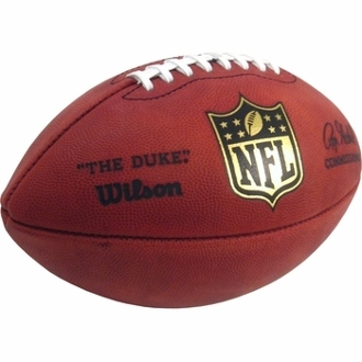 "Wilson ""The Duke"" NFL Authentic Game Football"