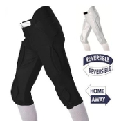 Alleson 688DRVY Solo Series Reversible Integrated Football Pants