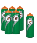 Gatorade Squeeze Bottles - Pack of 6