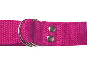 "Pink Football 1"" Web Belt"