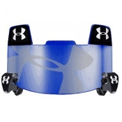 Under Armour Blue Mirror Hologram Football Visor