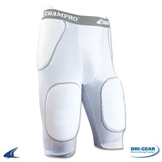 Champro FPGU1 Rush 5 Pad Integrated Football Girdle
