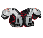 Riddell Power SPX Adult Football Shoulder Pads - LB/FB