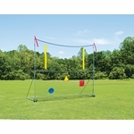Fisher Portable High School Football Goal Post -Net/Targets/Set